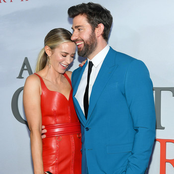 emily blunt and john krasinski a quiet place part II premiere