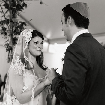 Gail Simmons and Jeremy Abrams's Modern and Formal Foodie Wedding in New York
