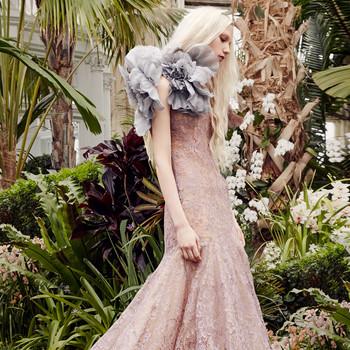 vera wang blush lace trumpet wedding dress spring 2020