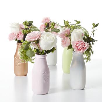 Milk Bottle Flower Vase Centerpieces