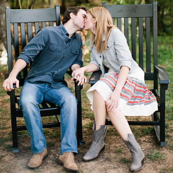 Sally and Christian's Rustic Outdoor Rehearsal Dinner at Blackberry Farm