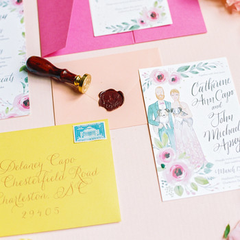 catherine john micro wedding invite perry vaile