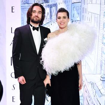 Charlotte Casiraghi and Dimitri Rassam