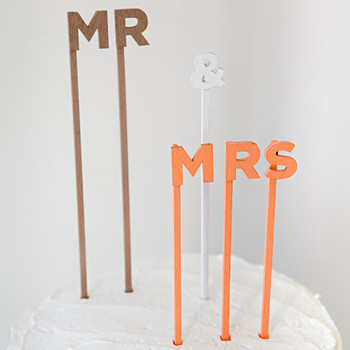 Custom-Worded Cake Topper