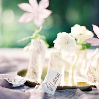 plant wedding favors flowers mini vases escort cards