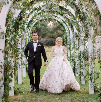 chelsea john wedding couple