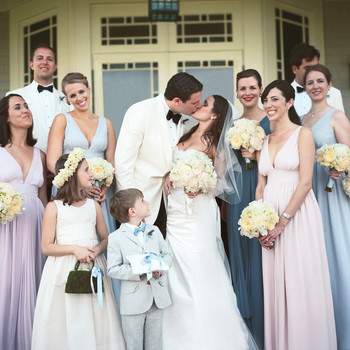 A Traditional Outdoor Lavender-Colored Destination Wedding in South Carolina