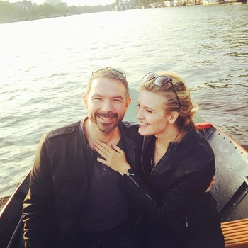 Maggie Grace and Brent Bushnell