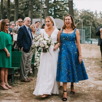 sofi ben camp wedding processional mom