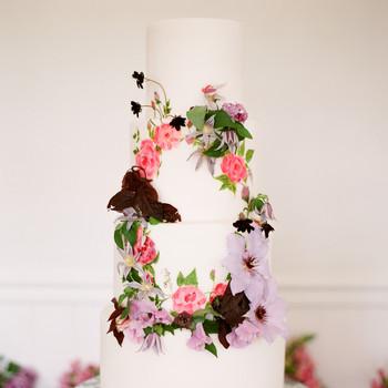 floral wedding cakes artiese studios lele patisserie