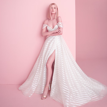 hayley paige wedding dress with removable sleeve