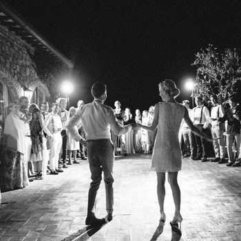 Love to Dance? Here Are 7 Ways to Ensure You'll Be Able to Party in Your Wedding Dress