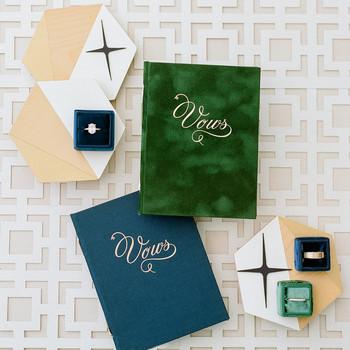 stefanie kevin wedding vows book