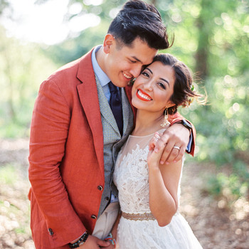 A Vibrant, Colorful Wedding in Houston, Texas