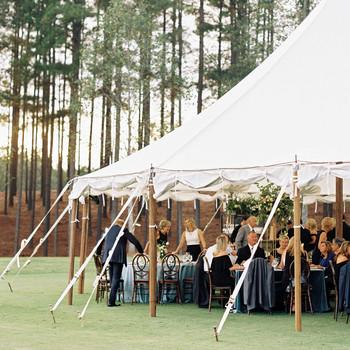 brittany alex wedding tent
