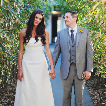 Casey and Ross's Relaxed Wedding in Montauk