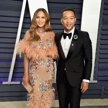 Chrissy Teigen Took John Legend on a Date in Their Backyard to Celebrate Father's Day