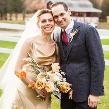 Hanna and Jimm's Outdoor Fall Wedding in the Hudson Valley