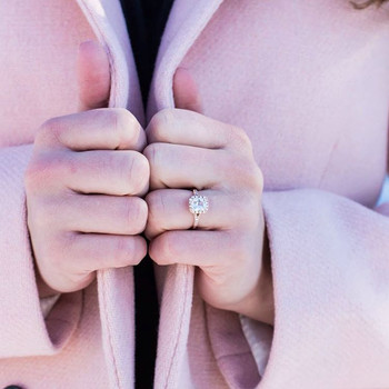 3 Weird Ways Your Gloves Might Ruin Your Engagement Ring This Winter