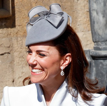 kate middleton wearing her wedding earrings