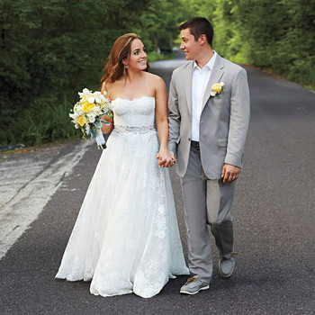 A Lemon-Themed Wedding Celebration in St. Louis