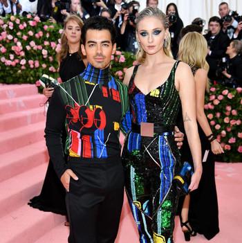 Sophie Turner and Joe Jonas 2019 Met Gala