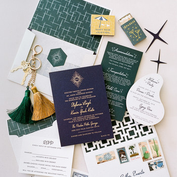stefanie kevin wedding stationary
