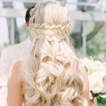 stephanie philip wedding braid