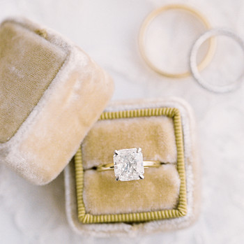 afton travers wedding rings
