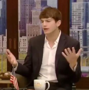 Ashton Kutcher Co-Hosting Live! with Kelly