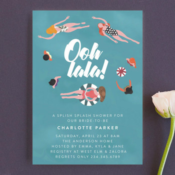 bachelorette party invites minted pool