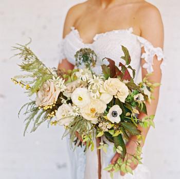 jayme barry wedding bouquet