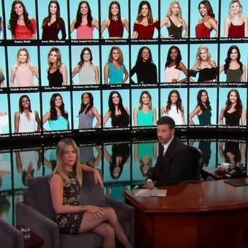 Jennifer Aniston on Jimmy Kimmel