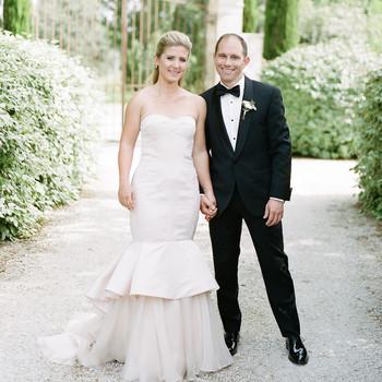 An Elegant Garden Wedding in Southern France