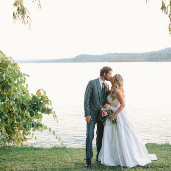 Lizzy and Bucky's Lakeside Michigan Destination Wedding