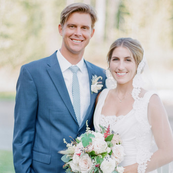 Robin and Kenneth's Pretty Outdoor Montana Wedding