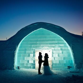 romantic destination ice hotel iceland