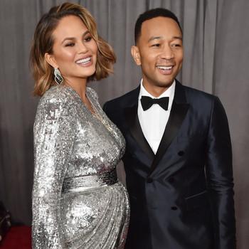 Chrissy Teigen and John Legend 2018 Grammy Awards