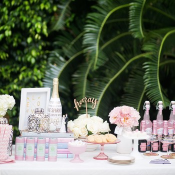 The Essential Elements of a Bridal Shower Dessert Bar