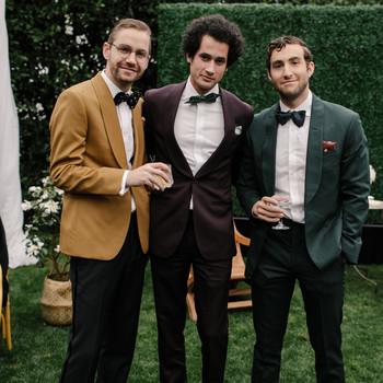 mia patrick wedding ceremony guests