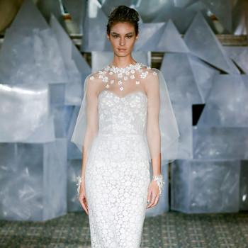 mira zwillinger wedding dress spring 2019 strapless sweetheart sheer cape