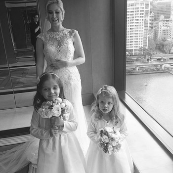 This Bride Had a Perfect Reaction to her Runaway Flower Girl
