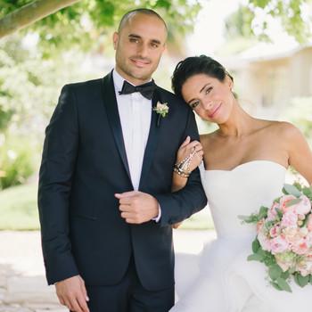 Vanessa and Joe's Foodie Wedding in Napa, California