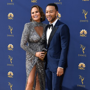 chrissy teigen and john legend emmys 2018