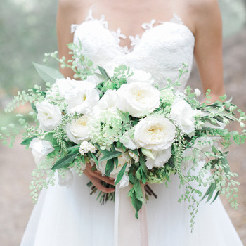 Wedding flowers bouquets martha stewart weddings 20 stunning wedding bouquets with ferns junglespirit Gallery