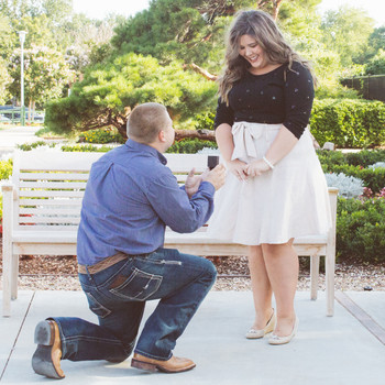 Running Errands Turned Into a Surprise Proposal for This Bride!