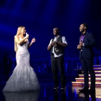 mariah carey helping couple get engaged
