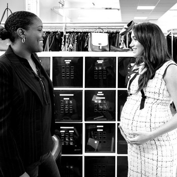 meghan markle new pregnancy photos
