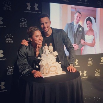 Steph and Ayesha Curry celebrate six years of marriage