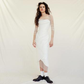 vivienne westwood wedding dress Spring 2019 tea length a-line